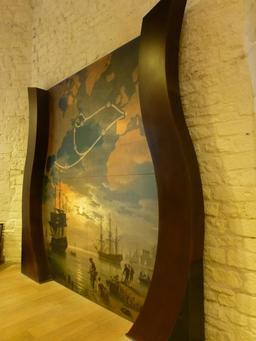Exposition dans la tour de la Chaîne à La Rochelle. Source : http://data.abuledu.org/URI/582178ef-exposition-dans-la-tour-de-la-chaine-a-la-rochelle