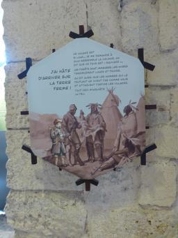 Exposition dans la tour de la Chaîne à La Rochelle. Source : http://data.abuledu.org/URI/58217929-exposition-dans-la-tour-de-la-chaine-a-la-rochelle