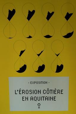 Exposition sur l'érosion côtière en Aquitaine. Source : http://data.abuledu.org/URI/55c13238-exposition-sur-l-erosion-cotiere-en-aquitaine