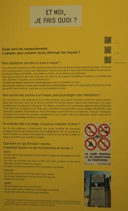 Exposition sur l'érosion côtière en Aquitaine. Source : http://data.abuledu.org/URI/55c13681-exposition-sur-l-erosion-cotiere-en-aquitaine