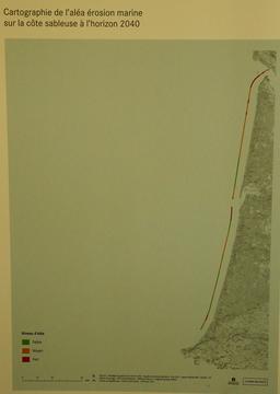 Exposition sur l'érosion côtière en Aquitaine. Source : http://data.abuledu.org/URI/55c13790-exposition-sur-l-erosion-cotiere-en-aquitaine