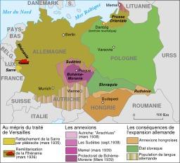 Extension de l'Allemagne en 1935-1939. Source : http://data.abuledu.org/URI/51d3c54f-extension-de-l-allemagne-en-1935-1939