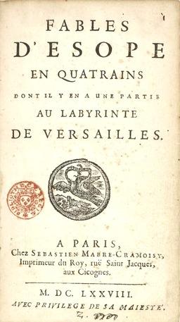 Fables d'Ésope par Bensérade. Source : http://data.abuledu.org/URI/591625cb-fables-d-esope-par-benserade