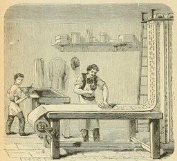 Fabrique de papier peint. Source : http://data.abuledu.org/URI/524d7912-fabrique-de-papier-peint