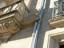 Façade art nouveau à Nancy. Source : http://data.abuledu.org/URI/58191415-facade-art-nouveau-a-nancy