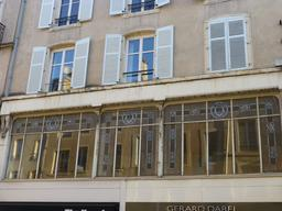Façade art nouveau à Nancy. Source : http://data.abuledu.org/URI/5819c609-facade-art-nouveau-a-nancy