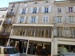 Façade art nouveau à Nancy. Source : http://data.abuledu.org/URI/5819c635-facade-art-nouveau-a-nancy