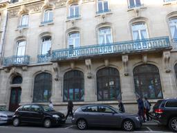 Façade art nouveau de la CCSI à Nancy. Source : http://data.abuledu.org/URI/5819bc07-facade-art-nouveau-de-la-ccsi-a-nancy