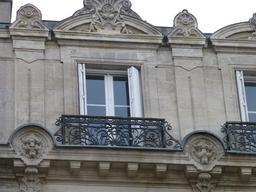 Façade bordelaise en centre-ville. Source : http://data.abuledu.org/URI/580a5e0b-facade-bordelaise-en-centre-ville