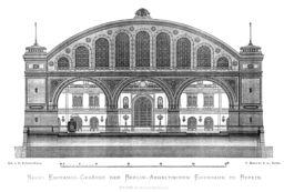 Façade de gare. Source : http://data.abuledu.org/URI/5022f888-facade-de-gare