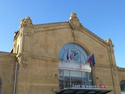 Façade de la gare de Nancy. Source : http://data.abuledu.org/URI/581a224b-facade-de-la-gare-de-nancy