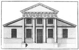 façade de style Palladio. Source : http://data.abuledu.org/URI/5022f7da-facade-de-style-palladio