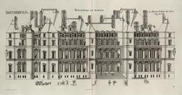 Façade du château de Madrid. Source : http://data.abuledu.org/URI/532ea5c8-facade-du-chateau-de-madrid