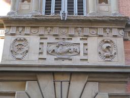 Façade du Palais Budini Gattai à Florence. Source : http://data.abuledu.org/URI/55127fe3-facade-du-palais-budini-gattai-a-florence