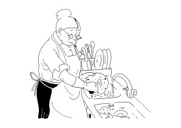 Faire la vaisselle. Source : http://data.abuledu.org/URI/50259967-faire-la-vaisselle