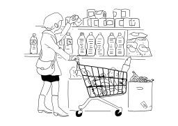 Faire les courses. Source : http://data.abuledu.org/URI/502599dd-faire-les-courses