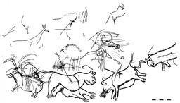 Félins de Lascaux. Source : http://data.abuledu.org/URI/5251a459-felins-de-lascaux
