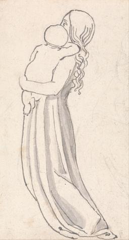 Femme et enfant. Source : http://data.abuledu.org/URI/51fd118e-femme-et-enfant