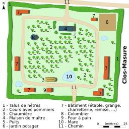 Ferme du pays de Caux. Source : http://data.abuledu.org/URI/51ccb2bb-ferme-du-pays-de-caux