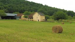 Ferme en été à Montignac. Source : http://data.abuledu.org/URI/5994b6e5-ferme-en-ete-a-montignac