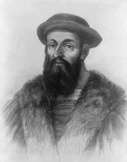 Portrait de Fernand de Magellan. Source : http://data.abuledu.org/URI/537a0163-fernand-de-magellan-
