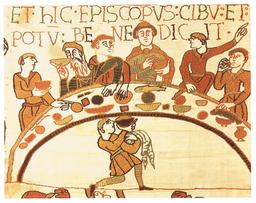 Festin médiéval à Bayeux. Source : http://data.abuledu.org/URI/537e0ce3-festin-medieval-a-bayeux