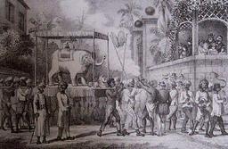 Fête des travailleurs indiens à La Réunion. Source : http://data.abuledu.org/URI/521bb8df-fete-des-travailleurs-indiens-a-la-reunion