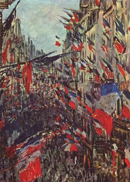 Fête du 14 juillet par Monet. Source : http://data.abuledu.org/URI/596bf05c-fete-du-14-juillet-par-monet