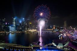 Feu d'artifice à Singapour. Source : http://data.abuledu.org/URI/54d740cf-feu-d-artifice-a-singapour