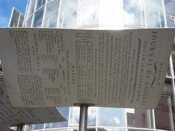 Feuille volante à la Bibliothèque de Bordeaux. Source : http://data.abuledu.org/URI/556a4da3-feuille-volante-a-la-bibliotheque-de-bordeaux