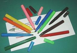 Feutres de couleur. Source : http://data.abuledu.org/URI/511e9331-feutres-de-couleur