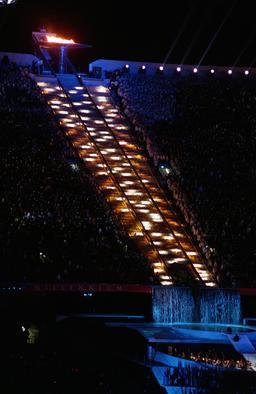Flamme olympique de Sydney. Source : http://data.abuledu.org/URI/534aa26d-flamme-olympique-de-sydney