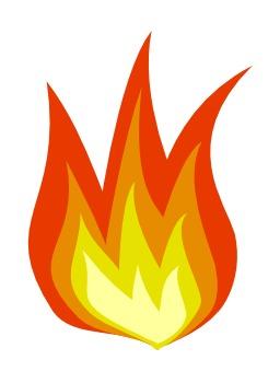 Flammes du feu. Source : http://data.abuledu.org/URI/50479b79-flammes-du-feu
