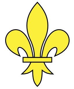 Fleur de lys en héraldique. Source : http://data.abuledu.org/URI/50d6dc9b-fleur-de-lys-en-heraldique