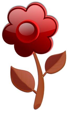 Fleur stylisée. Source : http://data.abuledu.org/URI/540444c4-fleur-stylisee