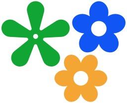 Fleurs à 5 et 6 pétales. Source : http://data.abuledu.org/URI/5049a04a-fleurs-a-5-et-6-petales