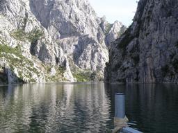 Fleuve de la Drin en Albanie. Source : http://data.abuledu.org/URI/55615800-fleuve-de-la-drin-en-albanie