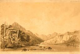 Fond du Port Galant, détroit de Magellan en 1837. Source : http://data.abuledu.org/URI/59803f22-fond-du-port-galant-detroit-de-magellan-en-1837