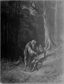 Forêt de légende. Source : http://data.abuledu.org/URI/513a024b-foret-de-legende