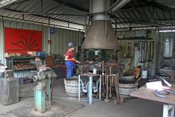 Forge du chantier de l'Hermione. Source : http://data.abuledu.org/URI/53839ed7-forge-du-chantier-de-l-hermione