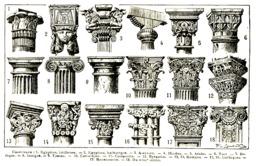Formes de chapiteaux. Source : http://data.abuledu.org/URI/504a60fa-formes-de-chapiteaux