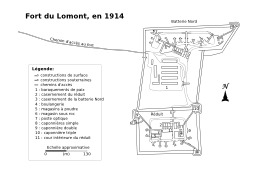 Fort du Lomont en 1914. Source : http://data.abuledu.org/URI/5290788c-fort-du-lomont-en-1914