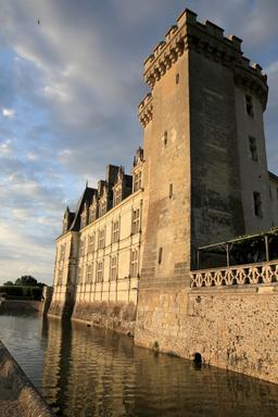 Fossé du Château de Villandry. Source : http://data.abuledu.org/URI/55e764df-fosse-du-chateau-de-villandry
