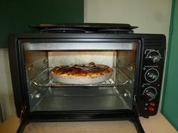 Frangipane cuite au four électrique. Source : http://data.abuledu.org/URI/54c964ef-frangipane-cuite-au-four-electrique