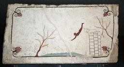 Fresque antique du plongeur à Paestum. Source : http://data.abuledu.org/URI/5388da23-fresque-antique-du-plongeur-a-paestum