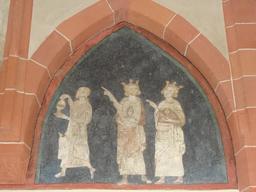 Fresque des trois rois mages. Source : http://data.abuledu.org/URI/586eae4b-fresque-des-trois-rois-mages