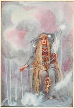 Freya, reine des dieux nordiques. Source : http://data.abuledu.org/URI/51ab4b2f-freya-reine-des-dieux-nordiques