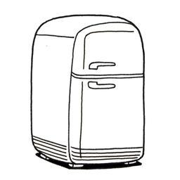 Réfrigérateur. Source : http://data.abuledu.org/URI/52d73137-frigidaire