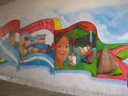 Frise murale de la lecture en 2006. Source : http://data.abuledu.org/URI/5962b096-frise-murale-de-la-lecture-en-2006