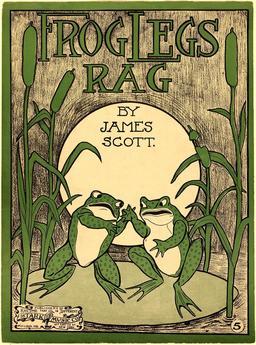 Frog Legs Rag de 1906. Source : http://data.abuledu.org/URI/5351b8e0-frog-legs-rag-de-1906